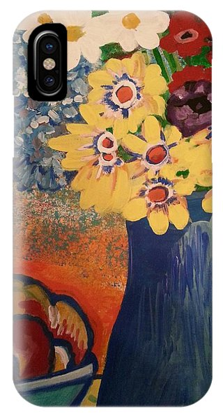 Flowers And Oranges IPhone Case