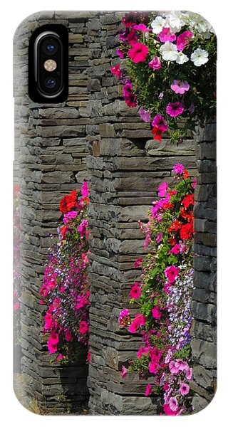Flowers At Liscannor Rock Shop IPhone Case