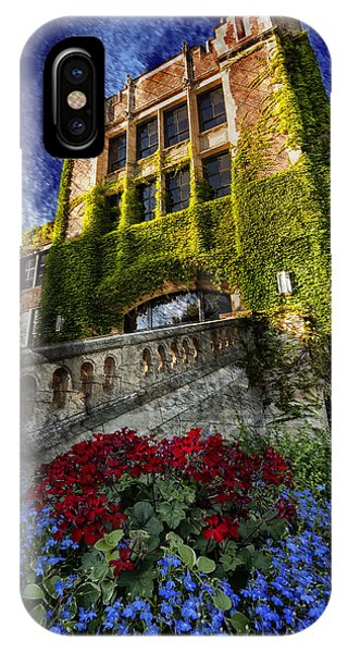 Flowers At Somsen Hall IPhone Case