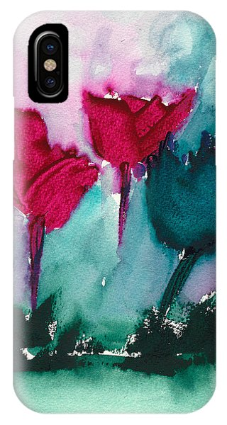 Flowers For Trees IPhone Case