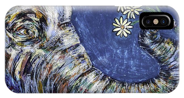 Midnite iPhone Case - Flowers For You by Lovejoy Creations