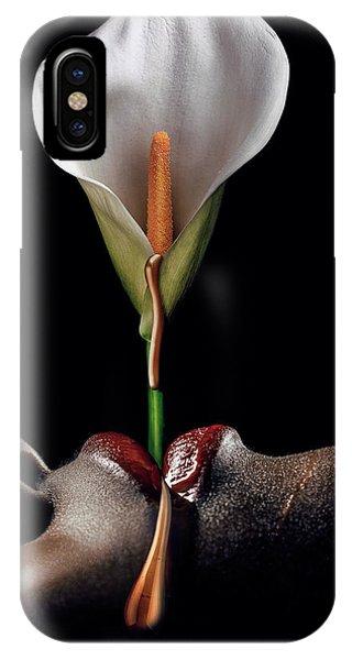 Head iPhone Case - Flowers Garden I by Jackson Carvalho