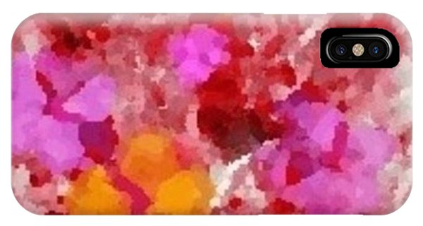 Flowers Impressions  Phone Case by Ray Tapajna