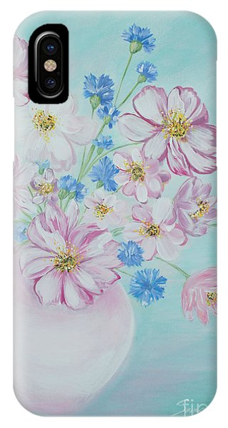 Flowers In A Vase. Inspirations Collection IPhone Case