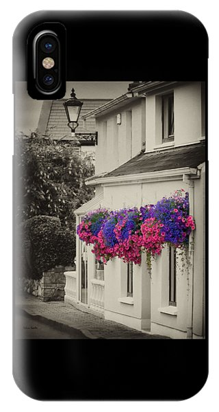 Flowers In Cashel IPhone Case