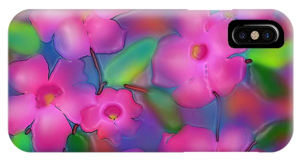 Flowers Of October IPhone Case
