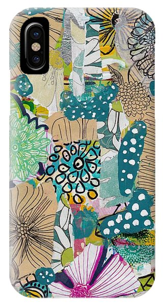 Flowes In An Ocean Forest IPhone Case