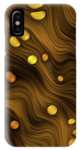Flowing Amber IPhone Case