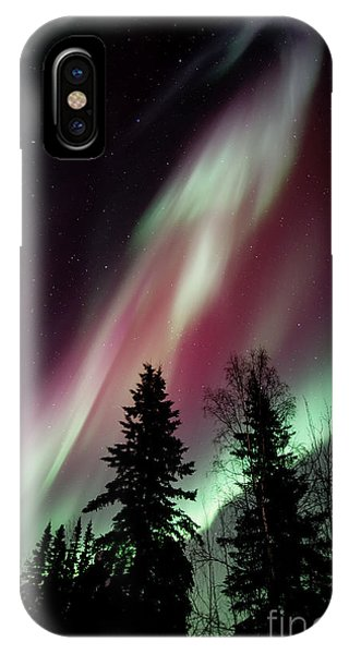 Skyscape iPhone Case - Flowing Colours by Priska Wettstein