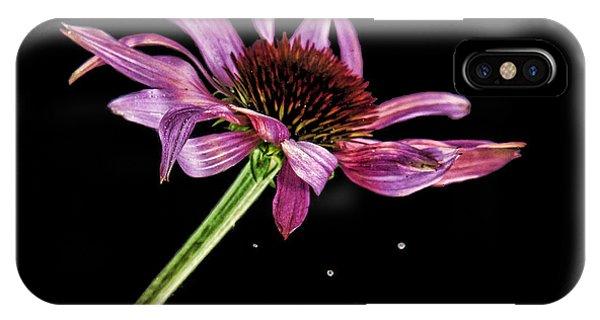 Flowing Flower 6 IPhone Case