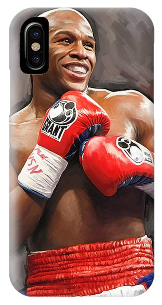 Floyd Mayweather Artwork IPhone Case