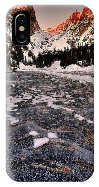 Rocky iPhone Case - Flozen Dreams by Ryan Smith