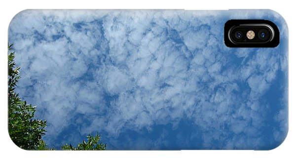 Fluffy Summer Clouds 1 IPhone Case