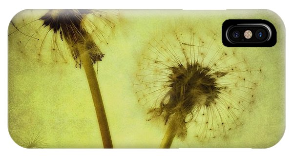 Nature Still Life iPhone Case - Fly Away by Priska Wettstein