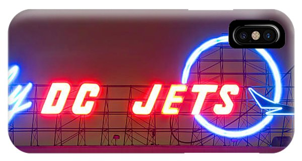 Fly Dc Jets IPhone Case