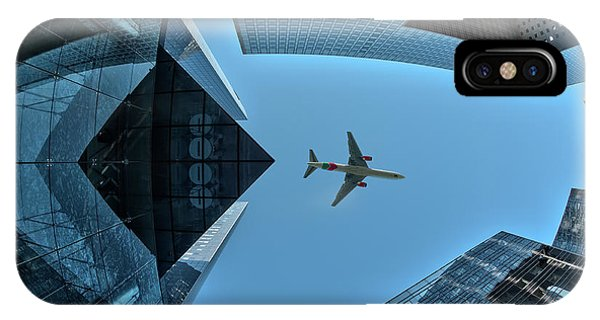 Airplanes iPhone Case - Fly Over by Marc Pelissier