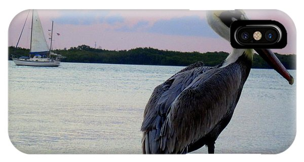 Fly Pelican  IPhone Case