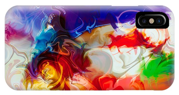 IPhone Case featuring the painting Fly With Me by Omaste Witkowski