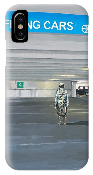 Flying Cars To The Right IPhone Case