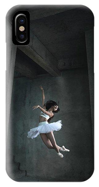 Flight iPhone Case - Flying Dance by Sebastian Kisworo
