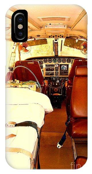 Flying Doctor Plane Phone Case by John Potts
