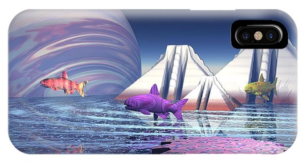 Flying Fish IPhone Case