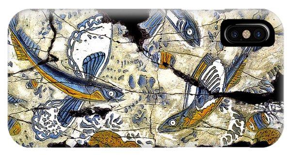 Bogdanoff iPhone Case - Flying Fish No. 3 by Steve Bogdanoff