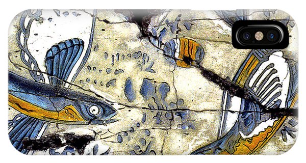 Bogdanoff iPhone Case - Flying Fish No. 3 - Study No. 2 by Steve Bogdanoff