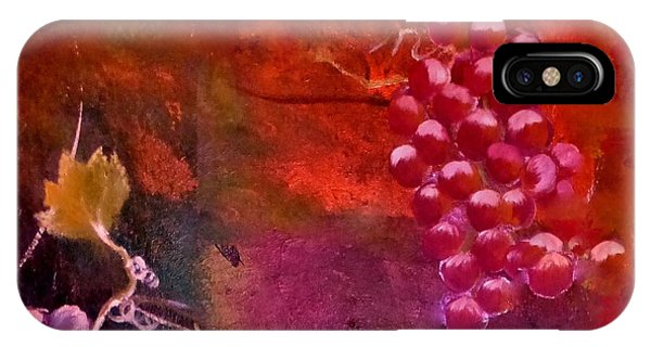 Flying Grapes IPhone Case