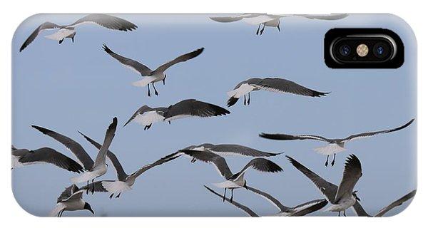 Flying Gulls  IPhone Case