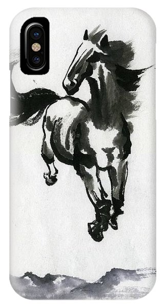 Flying Horse IPhone Case