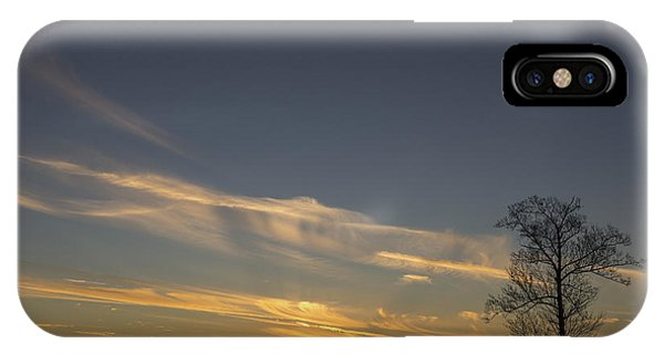 Flying Into The Yellow Sunset IPhone Case
