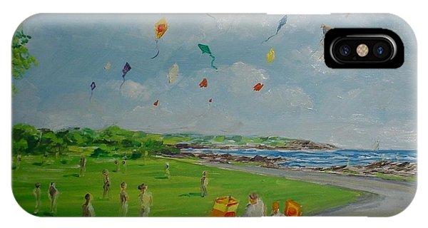 Flying Kites Newport Ri IPhone Case
