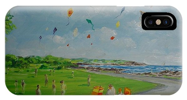 Flying Kites Newport Ri IPhone Case