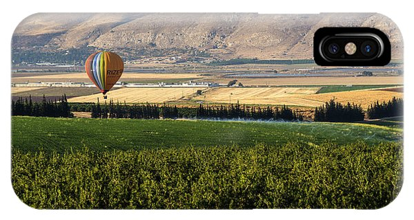 Flying Over Jezreel Valley IPhone Case