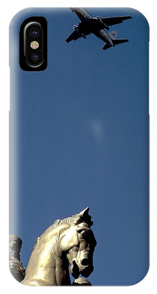 Flying Over Washington Dc Phone Case by Carl Purcell