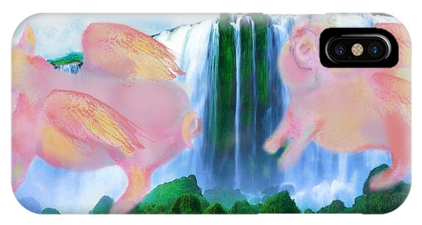 Flying Pigs IPhone Case