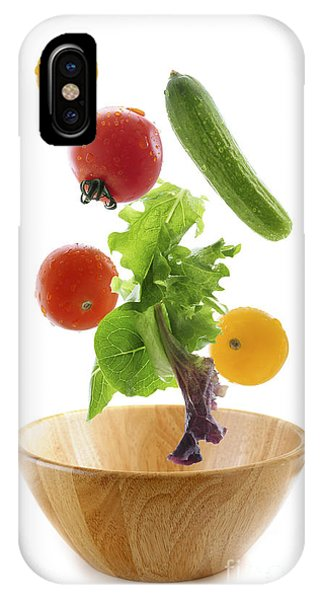 Lettuce iPhone Case - Flying Salad by Elena Elisseeva