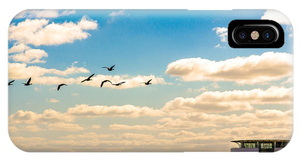Flying To Discovery IPhone Case