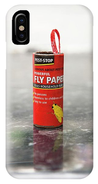 Flypaper Container Phone Case by Lewis Houghton/science Photo Library