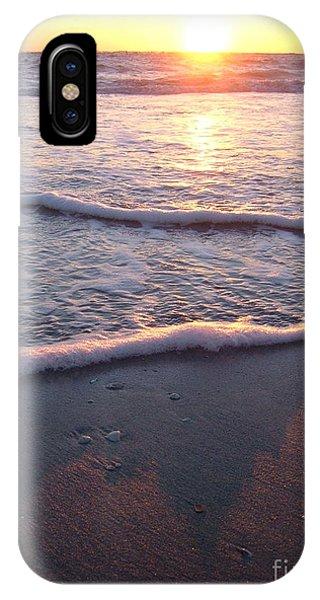Foamy Shore Phone Case by Sean Hughes