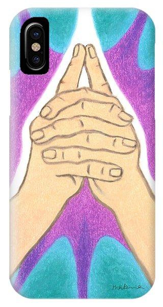 Focus - Mudra Mandala IPhone Case