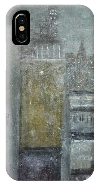 Fog Covered City IPhone Case