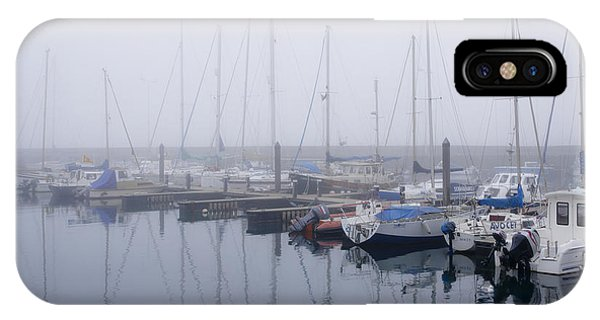 Fog In Marina I IPhone Case