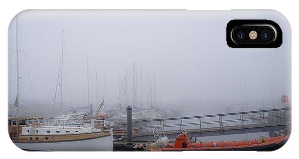 Fog In Marina IIi IPhone Case