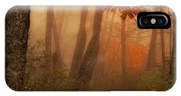 Foggy Autumn IPhone Case