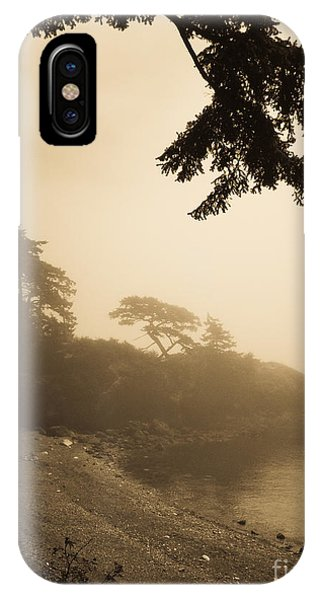 IPhone Case featuring the photograph Foggy Beach by Jeff Loh