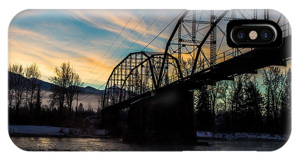 Foggy Bottom Bridge IPhone Case