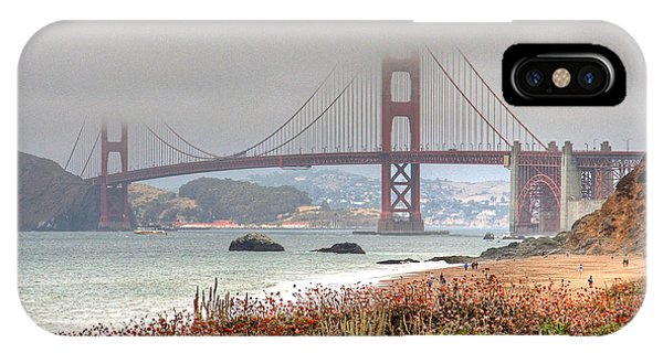 IPhone Case featuring the photograph Foggy Bridge by Kate Brown