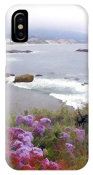 Laguna Beach iPhone Case - Foggy Day In Laguna Beach by Elaine Plesser